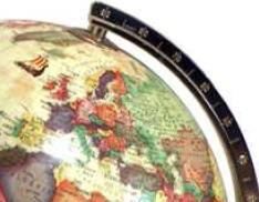 Europe-on-globe